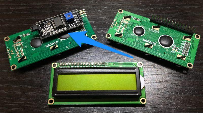 Arduino e display lcd 16×2 I2C