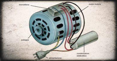 Come sfruttare un motore della lavatrice